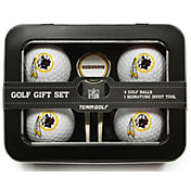 Team Golf Washington Redskins 4-Ball Tin Set