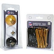 Team Golf New Orleans Saints 3 Ball/50 Tee Combo Gift Pack