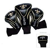 Team Golf New Orleans Saints 3-Pack Contour Headcovers