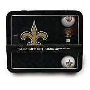 Team Golf New Orleans Saints Embroidered Towel Tin Set