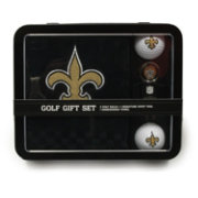 Team Golf New Orleans Saints Embroidered Towel Tin Set