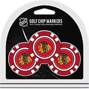Team Golf Chicago Blackhawks Poker Chips Ball Markers - 3-Pack