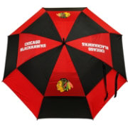 "Team Golf Chicago Blackhawks 62"" Double Canopy Umbrella"