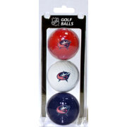 Team Golf Columbus Blue Jackets Three Pack Golf Ball Set