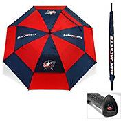 "Team Golf Columbus Blue Jackets 62"" Double Canopy Umbrella"