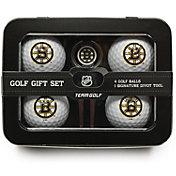 Team Golf Boston Bruins 4-Ball Tin Set