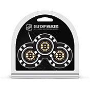 Team Golf Boston Bruins Poker Chips Ball Markers - 3-Pack