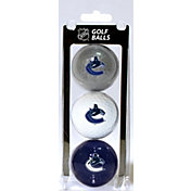 Team Golf Vancouver Canucks Three Pack Golf Ball Set