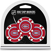 Team Golf Montreal Canadiens Poker Chips Ball Markers - 3-Pack