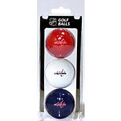Team Golf Washington Capitals Three Pack Golf Ball Set
