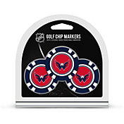Team Golf Washington Capitals Poker Chips Ball Markers - 3-Pack
