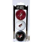 Team Golf Arizona Coyotes Three Pack Golf Ball Set