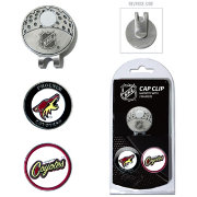 Team Golf Arizona Coyotes Cap Clip And Marker Set