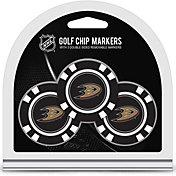 Team Golf Anaheim Ducks Poker Chips Ball Markers - 3-Pack