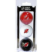 Team Golf New Jersey Devils Three Pack Golf Ball Set