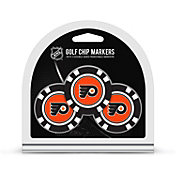 Team Golf Philadelphia Flyers Poker Chips Ball Markers - 3-Pack