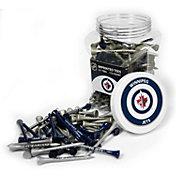 Team Golf Winnipeg Jets 175 Count Golf Tee Jar