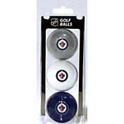 Team Golf Winnipeg Jets Three Pack Golf Ball Set