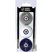 Team Golf Winnipeg Jets Three Pack Golf Ball Set