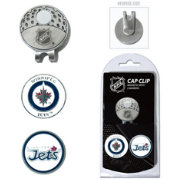 Team Golf Winnipeg Jets Cap Clip And Marker Set
