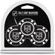 Team Golf Los Angeles Kings Poker Chips Ball Markers - 3-Pack