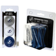 Team Golf Tampa Bay Lightning 3 Ball/50 Tee Combo Gift Pack