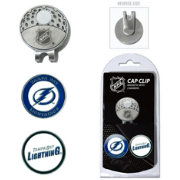 Team Golf Tampa Bay Lightning Cap Clip And Marker Set
