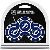Team Golf Tampa Bay Lightning Poker Chips Ball Markers - 3-Pack