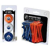 Team Golf Edmonton Oilers 3 Ball/50 Tee Combo Gift Pack