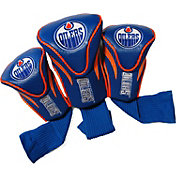 Team Golf Edmonton Oilers 3-Pack Contour Headcovers