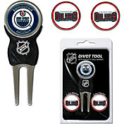 Team Golf Edmonton Oilers Divot Tool and Marker Set