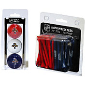 Team Golf Florida Panthers 3 Ball/50 Tee Combo Gift Pack