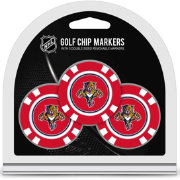 Team Golf Florida Panthers Poker Chips Ball Markers - 3-Pack