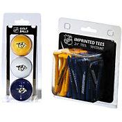 Team Golf Nashville Predators 3 Ball/50 Tee Combo Gift Pack