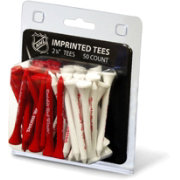 Team Golf Detroit Red Wings 50 Golf Tee Pack