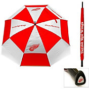 """Team Golf Detroit Red Wings 62"""" Double Canopy Umbrella"""