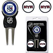 Team Golf New York Rangers Divot Tool and Marker Set
