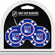 Team Golf New York Rangers Poker Chips Ball Markers - 3-Pack