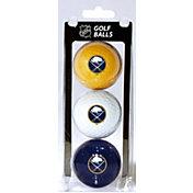 Team Golf Buffalo Sabres Three Pack Golf Ball Set