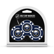 Team Golf Buffalo Sabres Poker Chips Ball Markers - 3-Pack