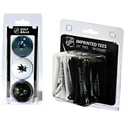 Team Golf San Jose Sharks 3 Ball/50 Tee Combo Gift Pack