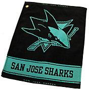 Team Golf San Jose Sharks Woven Towel
