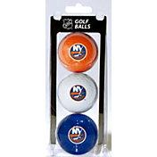 Team Golf New York Islanders Three Pack Golf Ball Set
