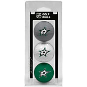 Team Golf Dallas Stars Three Pack Golf Ball Set
