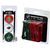 Team Golf Minnesota Wild 3 Ball/50 Tee Combo Gift Pack