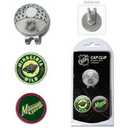 Team Golf Minnesota Wild Cap Clip And Marker Set