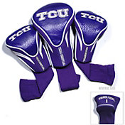Team Golf TCU Horned Frogs Contour Headcovers – 3-Pack