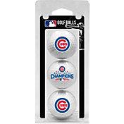 Team Golf 2016 World Series Champions Chicago Cubs 3-Pack Golf Balls