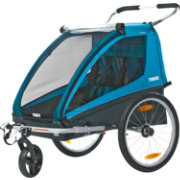 Thule Coaster Double Bike Trailer and Stroller