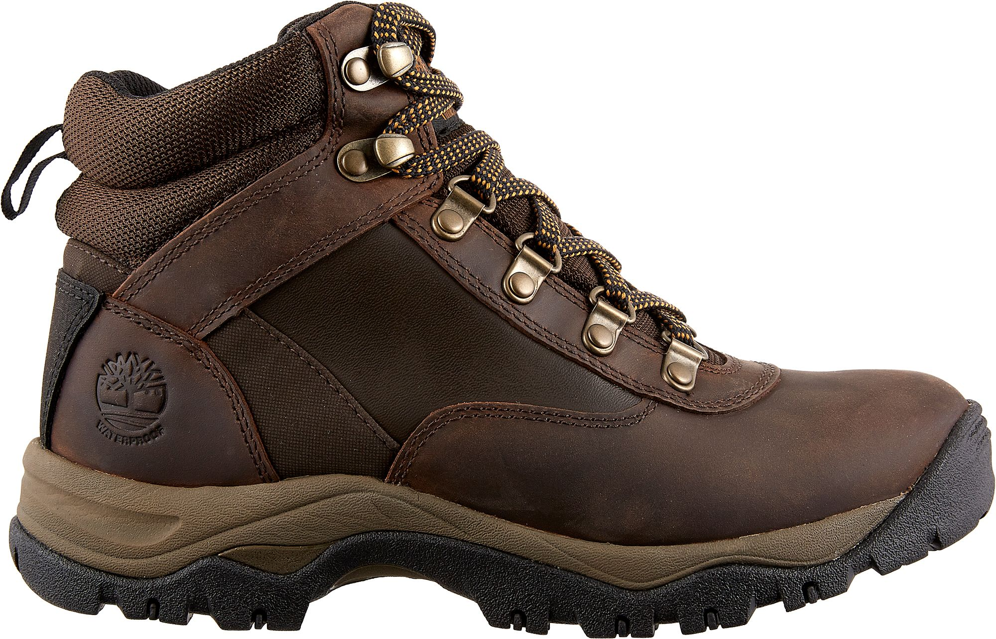 Womens TIMBERLAND Keele Ridge Oiled Waterproof Hiking Boots PEWTER OILED
